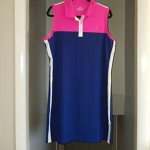 Vineyard Vines Athleisure Tennis Polo Dress XL